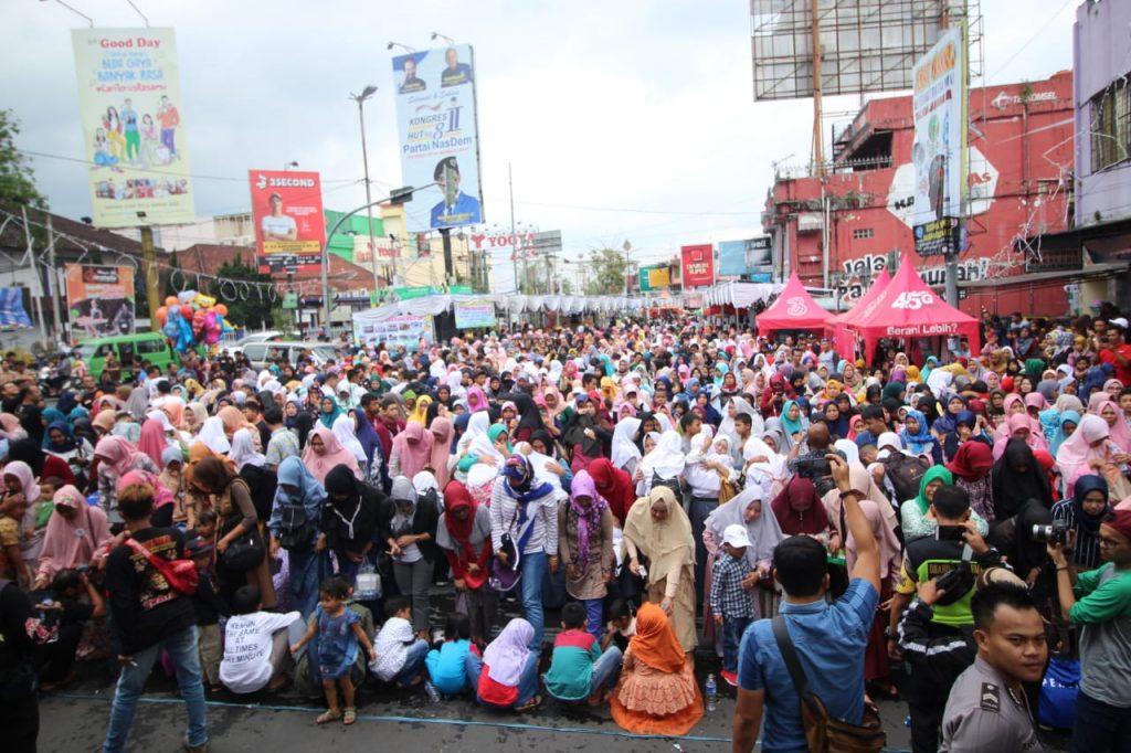 Basuh Kaki Ibu Polres Sukabumi Kota
