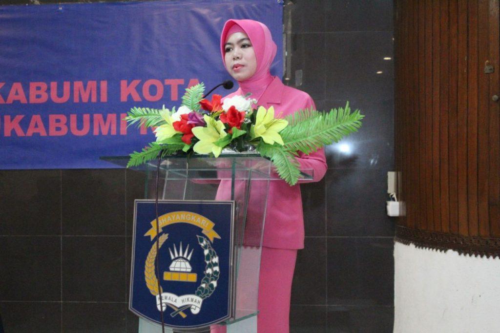 Ketua Bhayangkari Cabang Sukabumi Kota