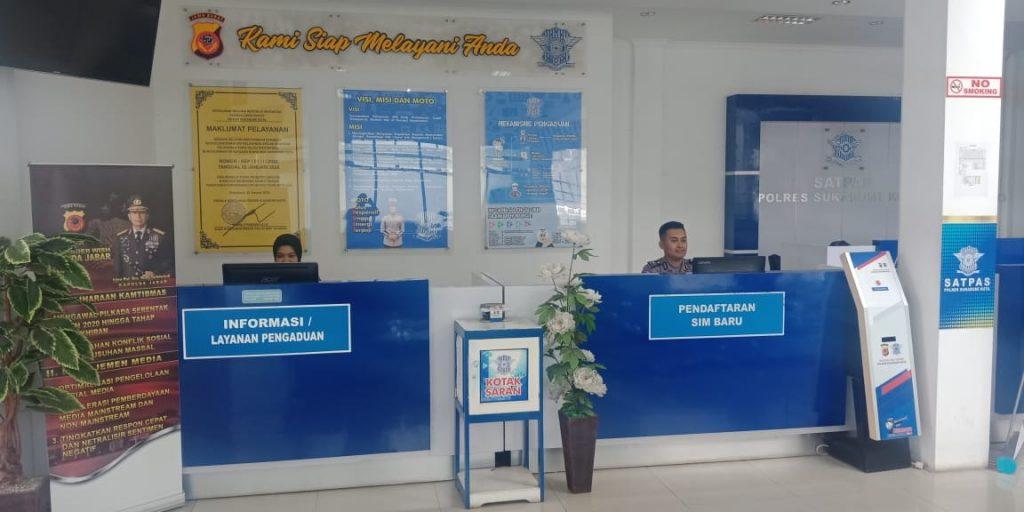 Kantor Satpas SIM Sat Lantas Polres Sukabumi Kota