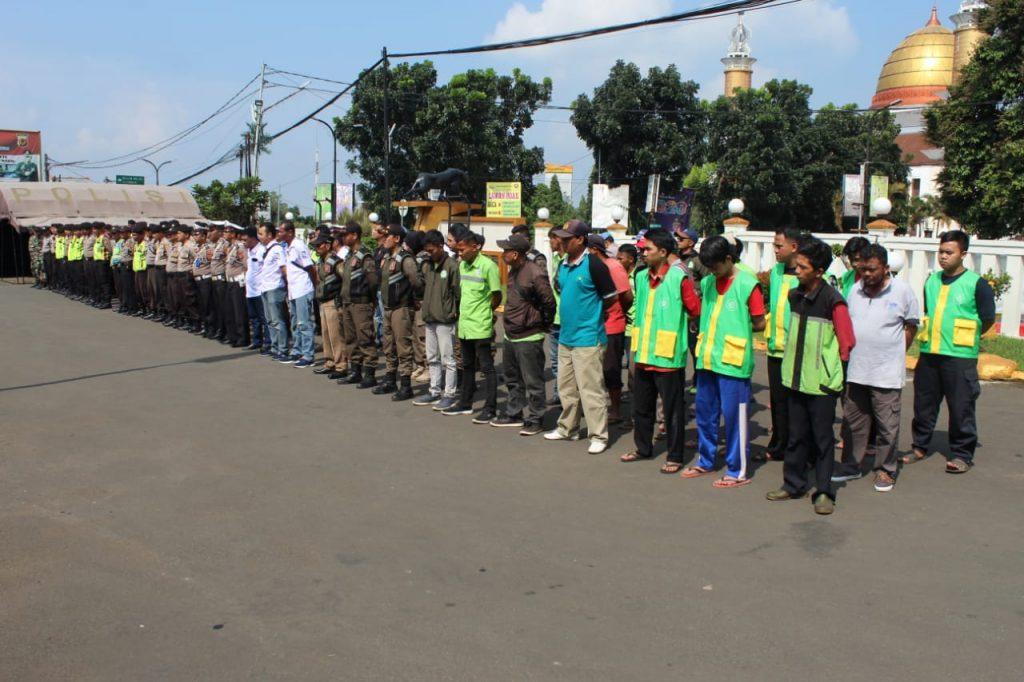 Apel Kesiapan kegiatan Korvei Polres Sukabumi Kota
